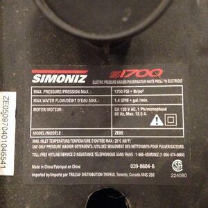SIMONIZ S1700 MOTOR