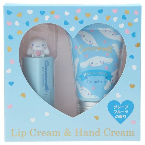 Sanrio Cinnamoroll Lip Balm & Hand Cream Set grapefruit Incense from JAPAN 2020