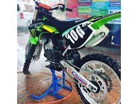 Kx 125 motocross bike £1900