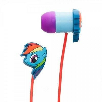 New My Little Pony Rainbow Dash Earbud In-Ear Headphones Licensed Collectable on Rummage