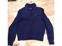Mens blue Ralph Lauren jumper (s)