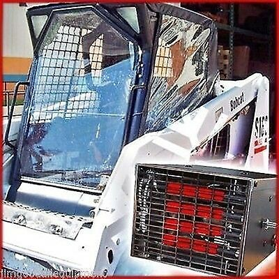 Bobcat Skid Steer Cab Enclosure Kit W 10000 Btu Heater Fits New Bobcat Series