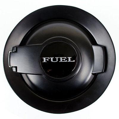 08-16 FUEL GAS CAP DOOR LID COVER MATTE BLACK FILLER DOOR FOR CHALLENGER