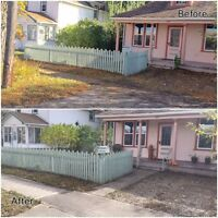 FALL CLEAN UP, LEAVES REMOVAL, SNOW REMOVAL