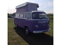 VW Campervan T2 bay 1972 USA import