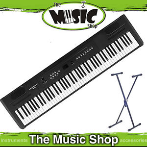 New Hemingway DP101 Full Size Digital Piano - 88 Weighted Keys + Stand & Sustain