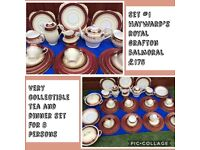 LARGE QUANTITY OF DINNER AND TEA SET FOR 8 PERSONS