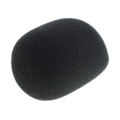 Set 5 Stück Mikrofon Windschutz / Popschutz aus Schaumstoff schwarz 40-50mm