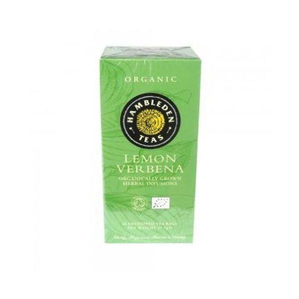 2 packs of Hambleden Organic Lemon Verbena Tea Bags 27.5G
