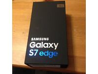 Samsung Galaxy S7 Edge. Brand new in box, waterproof and dustproof.