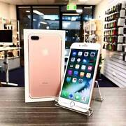 AS NEW IPHONE 7 PLUS 128GB ROSE GOLD UNLOCKED WARRANTY INVOICE Nerang Gold Coast West Preview