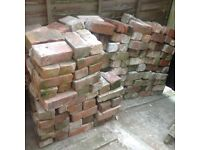 190 old reclaimed bricks