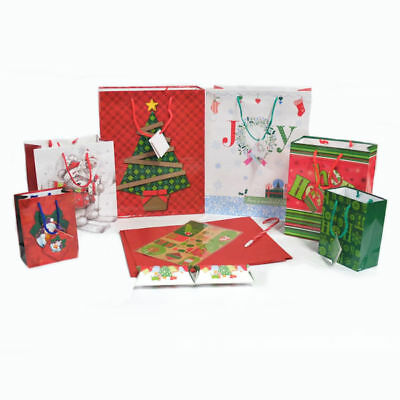 10 PC Set Christmas Bags