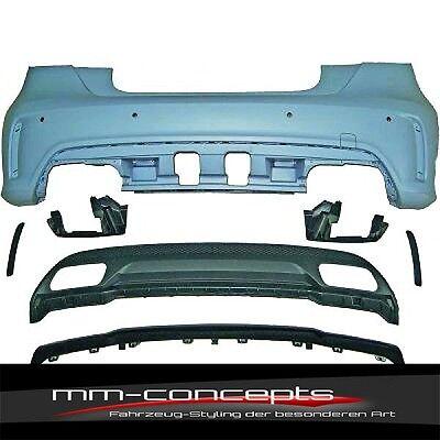 Heckstoßstange für Mercedes A-Klasse W176 A45 AMG Aerodynamik Edition 1 PDC