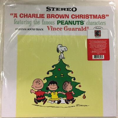 Vince Guaraldi Trio A Charlie Brown Christmas LP Peanuts RECORD NEW VINYL ALBUM ()