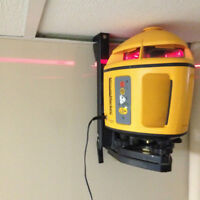 Spectra Physics Minute Marker Interior Rotating Laser Level