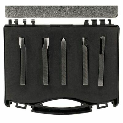 Ttc 5 Pc 14 Shank Hss Lathe Tool Set For Turningcut-offthreading