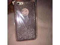 Glittery Rose Gold iPhone 6/6s Case