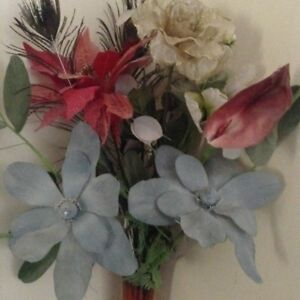 Artificial flowers buy or sell home decor accents in calgary artificial silk flowers mightylinksfo