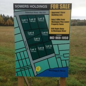 FOR SALE  APPROVED FOR BUILDING LOTS