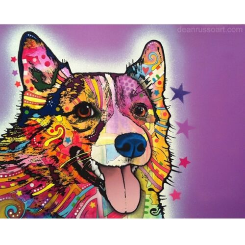 Corgi Dog Print 8x10 by Dean Russo - ONLY ONE LEFT - Ships Free