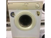 Vented white knight dryer ££45