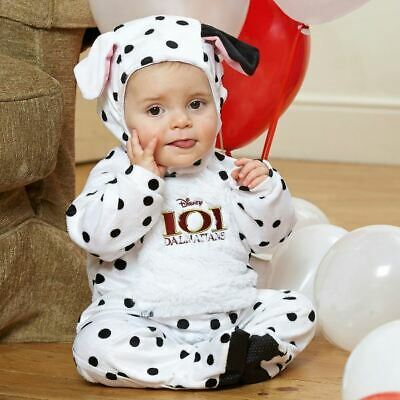 Disney Baby 101 Dalmations Romper with Hood 18-24 mths Toddler Babies Costume for sale  Shipping to Canada