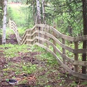 Custom fencing-BOOK NOW! Williams Lake Cariboo Area image 1