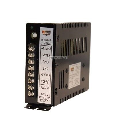 16A Arcade Switching Power Supply 110 / 220V, Jamma Multicade 8 Liner and more