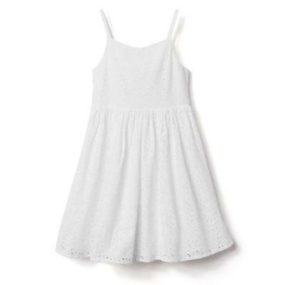 NWT Gymboree Dressed Up eyelet Dress special Occassion Wedding Easter Girls - Special Occassion Dresses