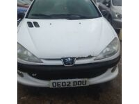 Peugeot 206 14 hdi cheap drives fantastic 295