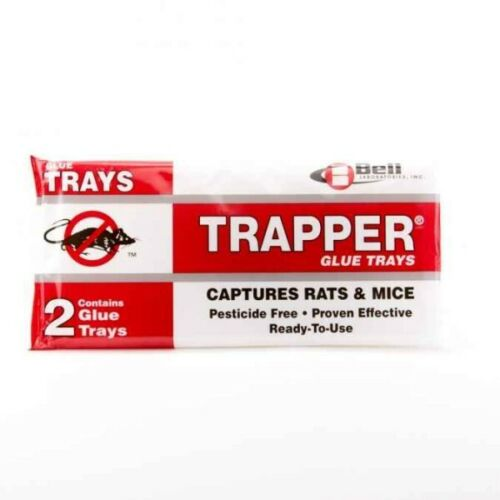 Trapper Mouse Rat Glue Board Trays 24 Packs / 48 Boards