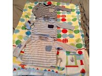 3 baby boys t shirts age 3-6 months