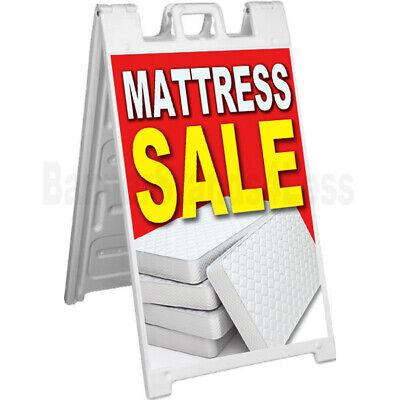 Mattress Sale - Signicade A-frame Sign Sidewalk Sandwich Pavement Sign Rb