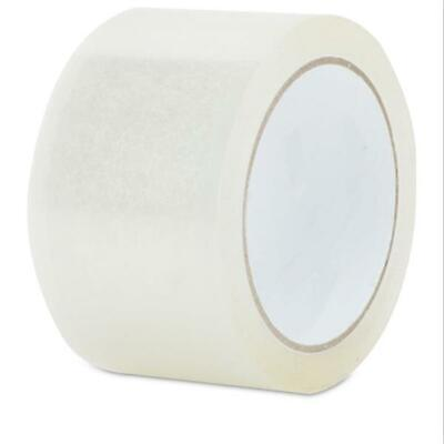 18 Rolls Clear Box Sealing Packing Tape Shipping - 1.7 mil 1.9