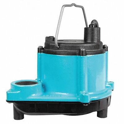 """LITTLE GIANT 6-CIMR 1/3 HP 1-1/2"""" F Submersible Sump Pump 11"""
