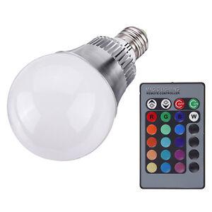 Lampadina-Lampada-Led-Bulbo-Sfera-E27-10W-RGB-Con-24Key-Telecomando-85 ...