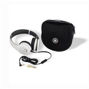 NEW Yamaha Pro Piano White Stereo Headphones