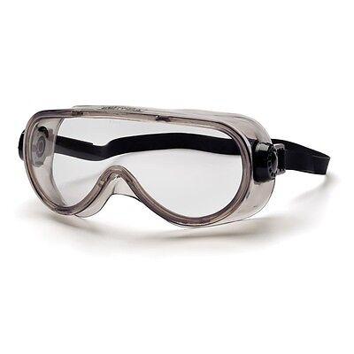 Pyramex Chem Splash Goggles - Clear Anti-Fog with Strap