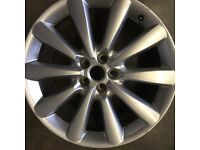 ONLY ONE JAGUAR XF 8.5x19 alloy wheel for sales £185 call 07860431401