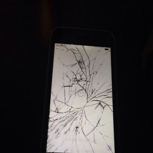 Smashed iphone 5c rogers