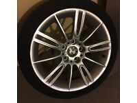 Bmw 18 inch Mv3 alloys full set of 4