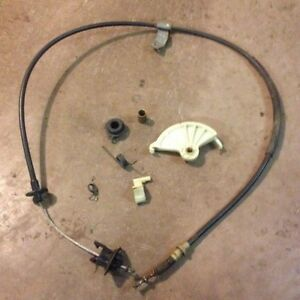 Mustang clutch cable