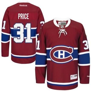 NEW MONTREAL CANADIENS CAREY PRICE JERSEY