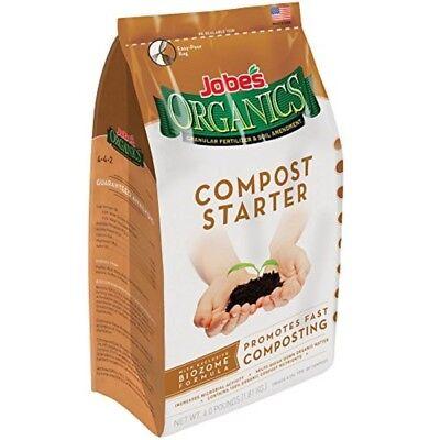 Jobe's Organics Compost Starter, 4 Lb (Compost Starter)