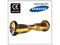 Official UK Safe CE Certified Swegway Self Balancing Scooter with Warranty- Gold