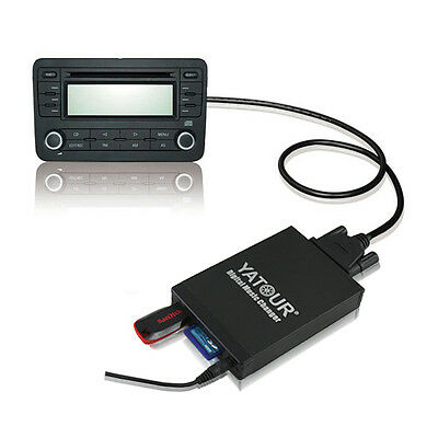 Yatour Car Digital Cd Music Changer Sd Usb Mp3 For Vw Audi A6 Volkswagen Beetle