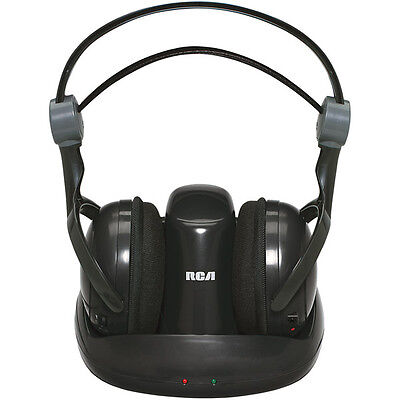 RCA Whp141 900mhz Wireless Stereo Headphones (whp141b)