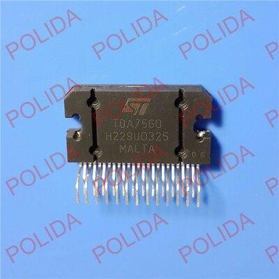 10pcs Audio Power Amplifier Ic St Zip-25 Tda7560