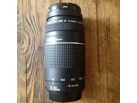 Canon 75- 300mm EF lens superb condition